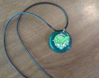 custom bottle cap necklace