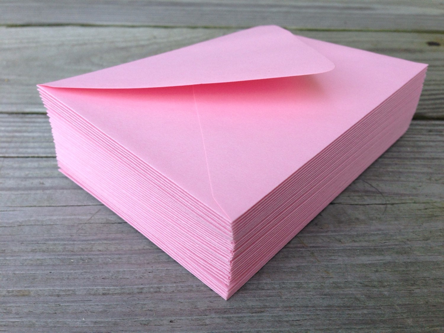 50 pink envelopes a7 5x7 invitation or a1 4bar rsvp pointed zoom stopboris Images