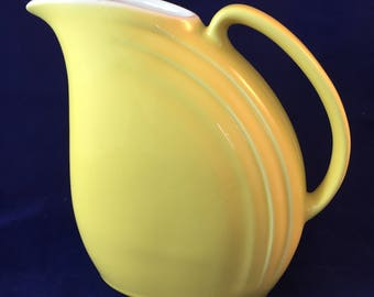 hall Yellow Water Pitcher