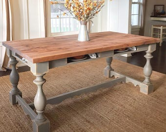 Pine Cottage Farm Table