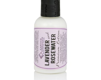 Lavender and Rose Water Lotion | Homemade, Organic, All-Natural Moisturizer made without chemicals or preservatives