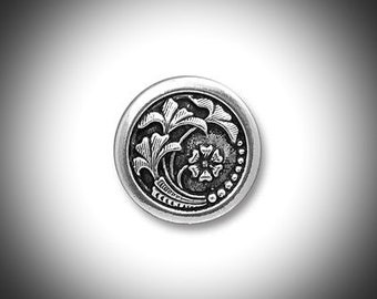 Silver Scottish Thistle Mens Lapel Pin Outlander Jewelry Groomsmen Gift Unisex Bridal Celtic Jewelry Tie Tack