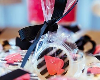 Pink Spade White Kate Spade Inspired Chocolate Covered Oreos