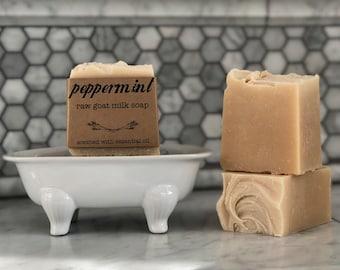 Peppermint Goat Milk Soap