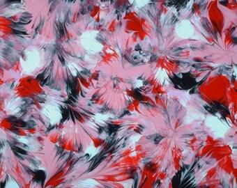 BREAST painting by Marcey Hawk (436 An Inside Joke) erotic sexy art modern