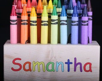 Crayon Block - Personalized