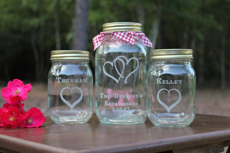 4 mason jar sand ceremony set personalized engraved sand zoom reviewsmspy