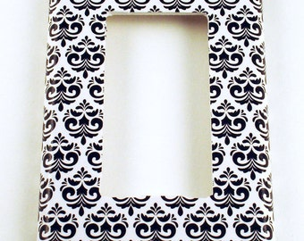Light Switch Cover Wall Decor Rocker Switchplate Switch Plate in  Anais   (092R)