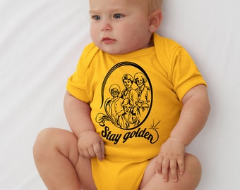 "Golden Girls ""Stay Golden"" Onesie"