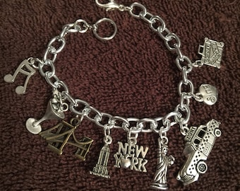 New York City Charm Bracelet