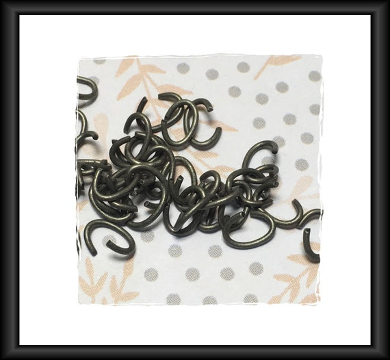 Pewter Tone Oval Chain Links 6 x 4 mm - approx. 50 links