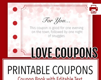 Love Coupons, Love Coupon Book Tag, Love Coupons for Him, Love Coupon for Him, Love Coupon Book, Love Coupon, Instant Love Coupons