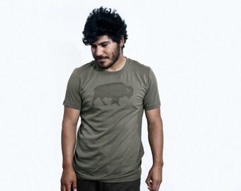 Vintage Buffalo Graphic TShirt | Mens Womens Graphic Tees Unisex | Outdoor Shirts | Vintage Distressed T-shirts | Gift Ideas | USA Printed