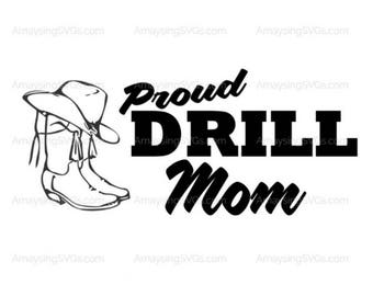drill team boot etsy rh etsy com dance team clipart equestrian drill team clipart