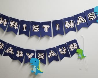 Private Listing - Dinosaur Baby Shower Banner