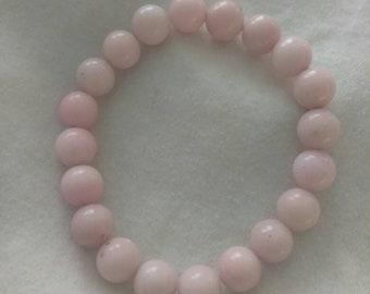 Soft Pink, Glass Beaded bracelet