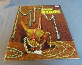 Beading Projects, Mini Beads,Jewelry, Belts, Necklaces, Harold Mangelsen & Sons, 1974