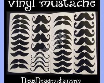 24 Baby shower Mustache vinyl decals Lil man baby shower Boy baby shower decorations sprinkle party vinyl cup stickers party cup stickers