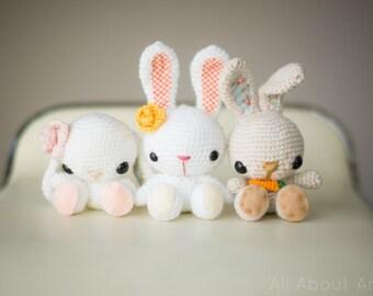 Spring Bunnies Crochet Pattern