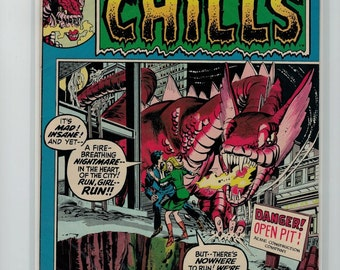 Chamber of Chills #1 (1972) Raw condition of 7.0. Exceptional.