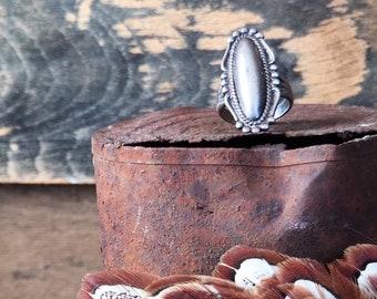 Avant Garde Sterling Silver Ring Vintage