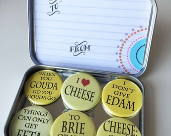 Cheesy Magnets, gift set