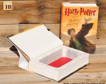 Hollow Book Safe - Harry Potter Year 7 - Hollow Secret Book