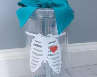 Radiology Tech Tumbler, Radiology Tech Gift, X-Ray Tech, X-Ray Gift, Rad Tech Gifts, Rad Tech, X-Ray Gifts