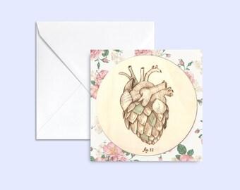 card Coeur d'artichaut