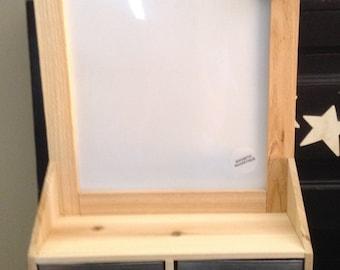 Message Board, Message Center, Dry Erase Board, Message Board with Storage, Magnetic Dry Erase Board, Magnetic Board