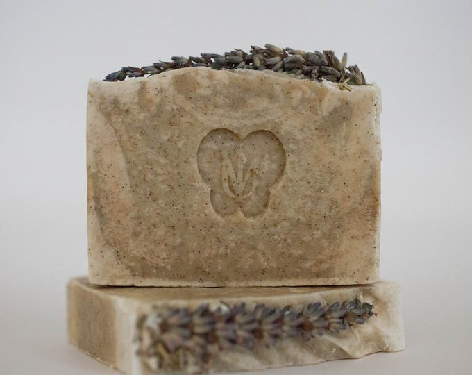 Featured listing image: LAVENDER FIELD - Cold Process Organic Soap - Virgin Avocado Oil
