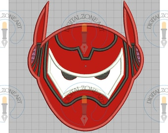 Big Hero Portrait Head-Machine Embroidery Designs - INSTANT DOWNLOAD