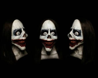 Jeff the Killer - Professional Latex Mask - Creepypasta Mask