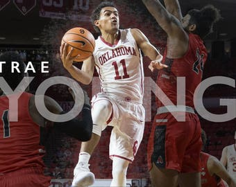 Trae Young Poster (Oklahoma Sooners)