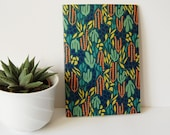 Cactus Patterned Dotted N...