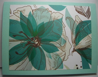Sea Breeze Lily • Box of 6 Handmade Cards