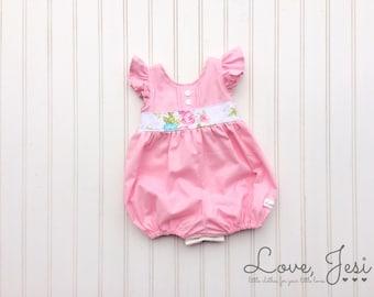 Baby Girl Romper, Toddler Girl Romper, Girls Easter Outfit, Baby Girls Dresses, Toddler Girl Dresses, Little Girl Clothes, Baby Girl Clothes
