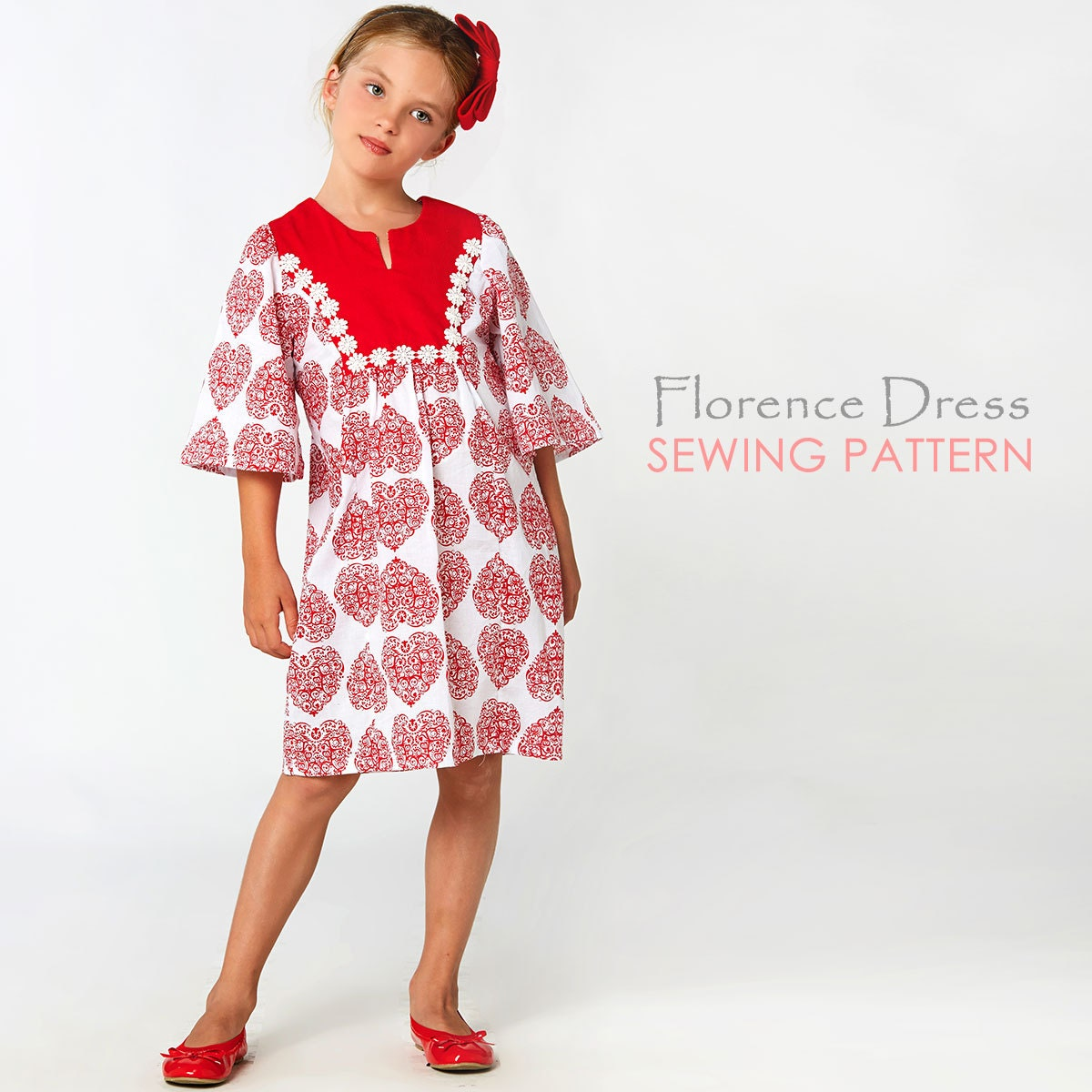 Childrens sewing pattern pdf girls sewing pattern pdf girls zoom jeuxipadfo Gallery