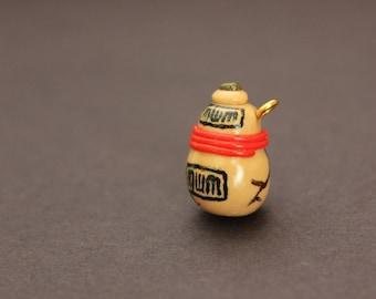 Gaara Sand Gourd Charm; Gaara Charm; Gaara Sand Gourd Accessory; Gaara Sand Gourd Jewelry; Naruto Charm; Anime Charm