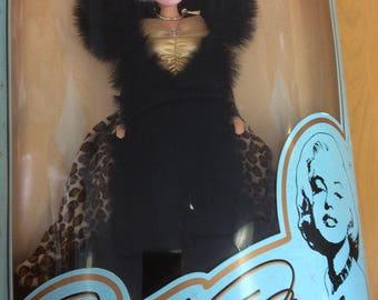 "Collectors series ""Fur Fantasy Marilyn"" limited edition doll/Marilyn Monroe doll"