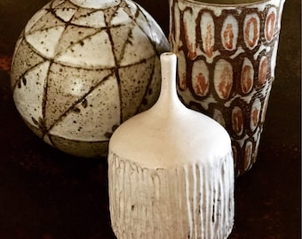 3 Studio Ceramic Vases