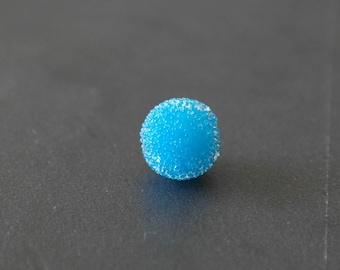 Pearl effect sugar blue 13 mm
