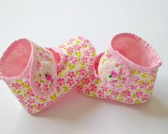 Baby Girl Shoes | Baby Booties | Baby Crib shoes | Handmade Baby shoes