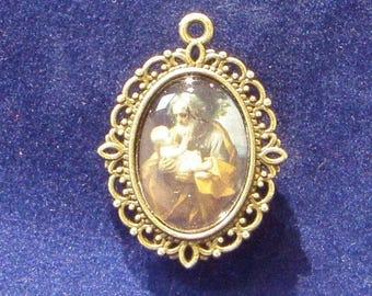 Saint Joseph Religious Medal, Patron saint of Carpenters, Confectioners, Doubt, Dying, and more!