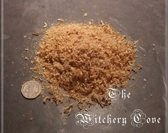 Ash Wood Chippings ~ per 10 grams ~ Wicca Witchcraft Voodoo Ritual ~ Protection ~ Prosperity
