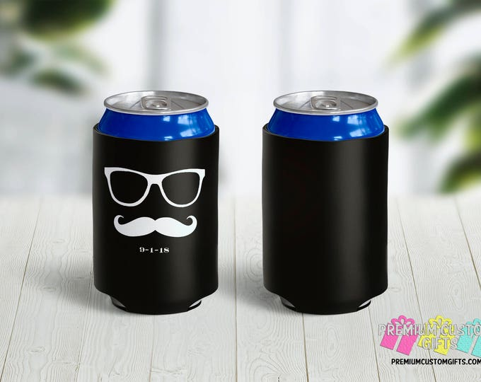 Bachelor Party Can Coolers -Birthday Can Coolers - Bachelorette Can Coolers - Custom Coolies - Wedding Party Favors - Vacation Can Coolers