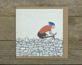 Drystone Wall Cycling Card