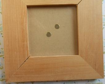 Natural Wood Frames Set of 2
