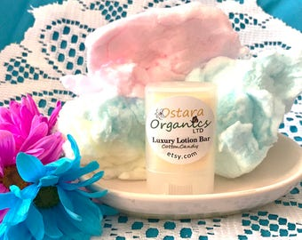Cotton Candy Lotion Bar, Cotton Candy Lotion, Portable Lotion Bar, Natural Lotion Bar, Organic Lotion Bar, Solid Lotion, Hand Lotion Bar