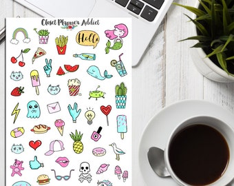 You're So Rad! Planner Stickers | 90s stickers | Rad Stickers | Iconic Stickers | Cool Stickers (S-224)